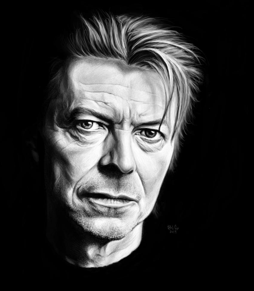 David Bowie por BradGeiger